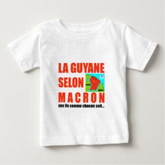 Guyana according to Macron is an island Baby T-Shirt