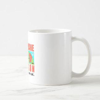 Guyana according to Macron is an island Coffee Mug