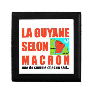 Guyana according to Macron is an island Gift Box