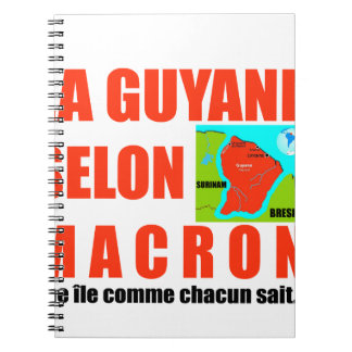 Guyana according to Macron is an island Notebooks