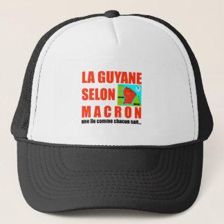 Guyana according to Macron is an island Trucker Hat
