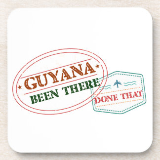 Guyana Been There Done That Beverage Coaster