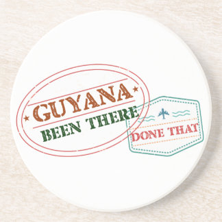 Guyana Been There Done That Drink Coaster