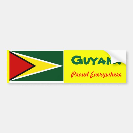 Guyana bumper stickers