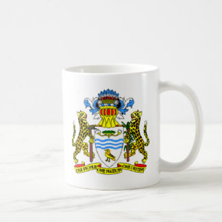 Guyana coat of arms coffee mug