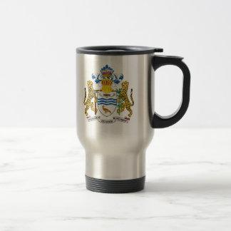 Guyana Coat Of Arms Travel Mug