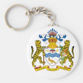 guyana emblem keychain
