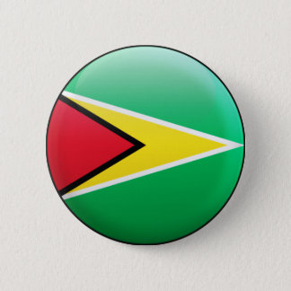 Guyana Flag 2 Inch Round Button