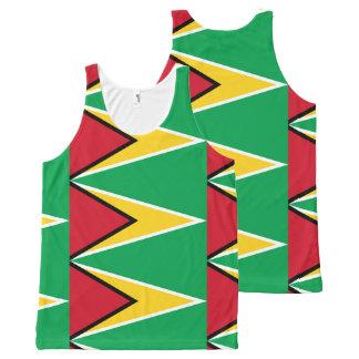 Guyana Flag All-Over-Print Tank Top
