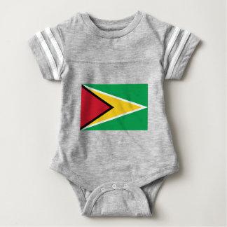 Guyana Flag Baby Bodysuit