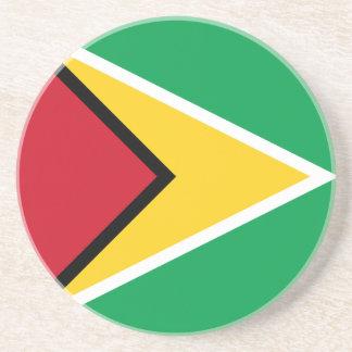 Guyana Flag Beverage Coasters