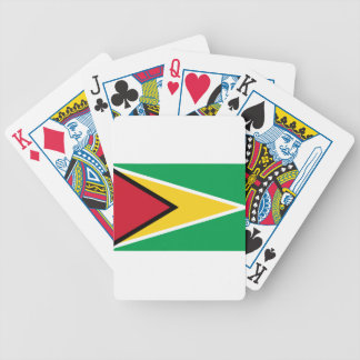 Guyana Flag Bicycle Playing Cards