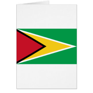 Guyana Flag Card