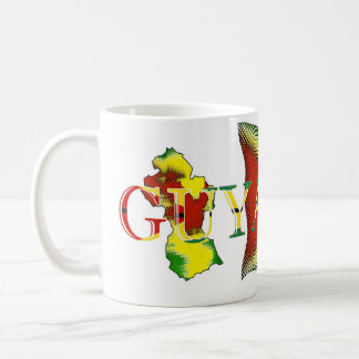 Guyana Flag_Digital Art_Mug Coffee Mug