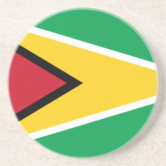 Guyana Flag Drink Coaster