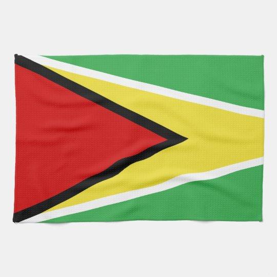 Guyana Flag Hand Towel