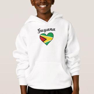 Guyana Flag Heart