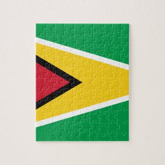 Guyana Flag Jigsaw Puzzle