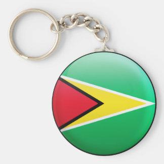 Guyana Flag Keychain
