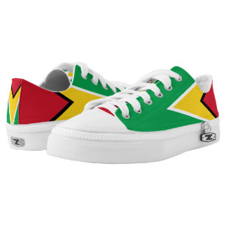 Guyana Flag Low-Top Sneakers