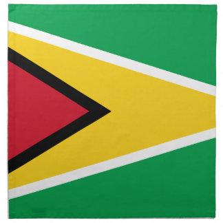Guyana Flag Napkin