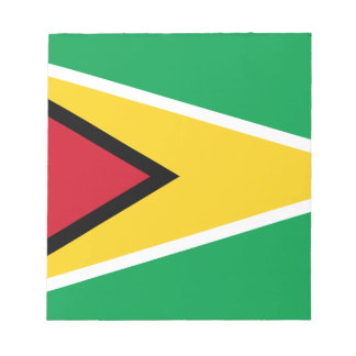 Guyana Flag Notepad
