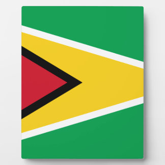 Guyana Flag Plaque