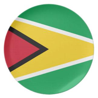 Guyana Flag Plate