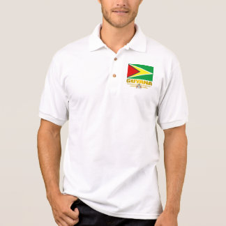 Guyana Flag Polo Shirt