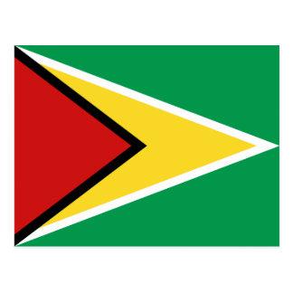 Guyana Flag Postcard