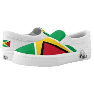 Guyana Flag Slip-On Sneakers