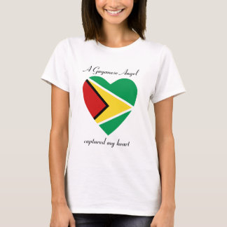 Guyana Flag Sweetheart T-Shirt