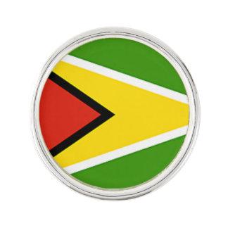 Guyana Flag The Golden Arrowhead Lapel Pin