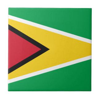 Guyana Flag Tile