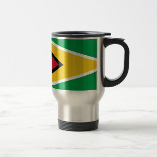 Guyana Flag Travel Mug