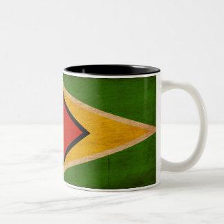 Guyana Flag Two-Tone Coffee Mug