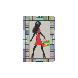 Guyana Girl Custom Passport Holder