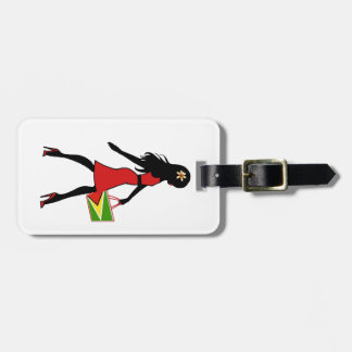 Guyana Girl Luggage Tag