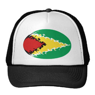 Guyana Gnarly Flag Hat
