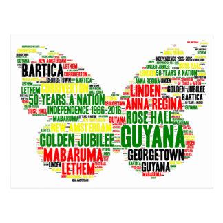 Guyana Independence Celebration Postcard