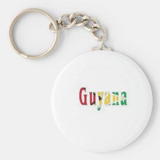 Guyana Keychain