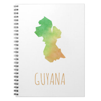 Guyana Spiral Notebook