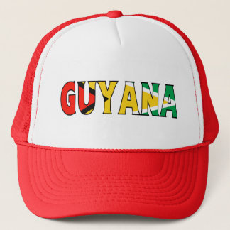 Guyana Trucker Trucker Hat