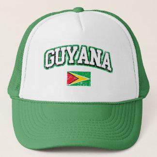 Guyana Vintage Flag Trucker Hat