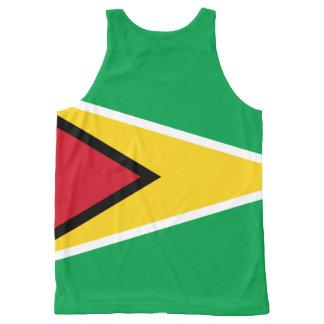 Guyanese flag All-Over-Print tank top