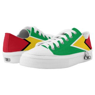 Guyanese Flag Low-Top Sneakers