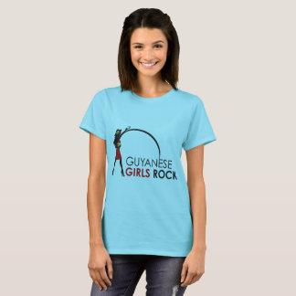 Guyanese Girls Rock Basic T-Shirt