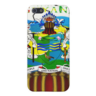 Guyanese styled Speck® Fitted™ Fabric-Inlaid Hard iPhone 5 Case