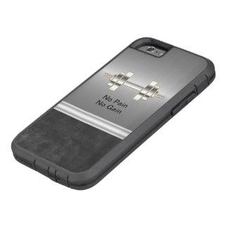 Guys Fitness Theme Tough Xtreme iPhone 6 Case