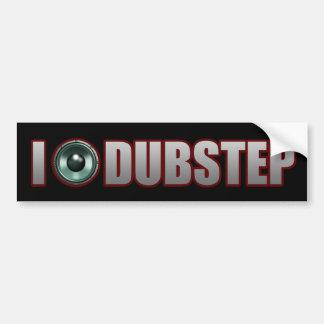 guys girls DUBSTEP Bumper Sticker